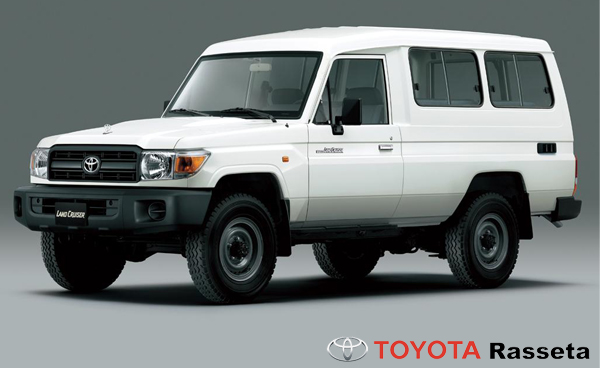 TOYOTA Land Cruiser Station wagon - HZJ78L